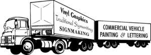 An early Sneddon SIgns logo