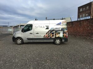 Vinyl Wrapping as part of a complete graphics package