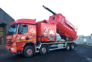 Disab tanker fully repainted into red