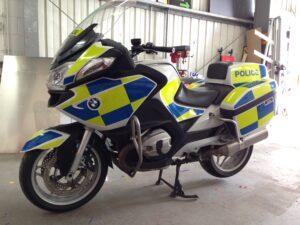 BMW Police Motorbike